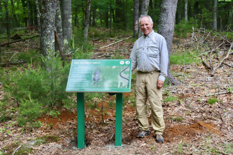 Interpretive Signs Installed at Holt Research Forest